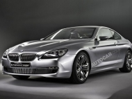 BMW 6 Series Concept, Munich. Photograph James Lipman / jameslipman.com UK 07803 885275Photographer - Jamie Lipman Autocar Magazine Haymarket Publishing  BMW 6 Series Concept Silver Studio