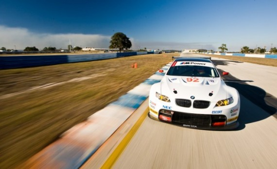 BMW M3 GT на треке