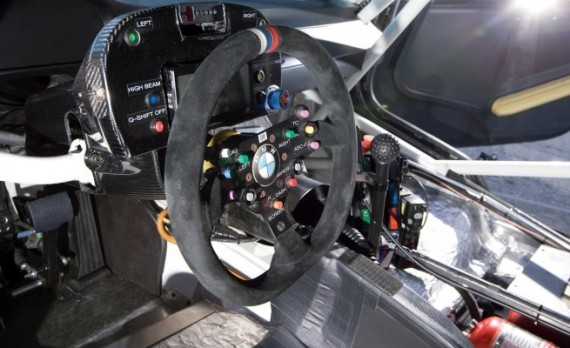 BMW M3 GT интерьер